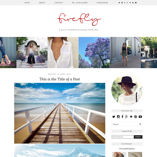 Pipdig Pro Blogger Templates Wordpress Themes For Your Blog